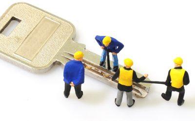 Bestilling af låsesmed foregår på nettet